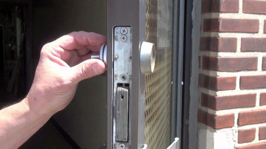new commercial lock installation