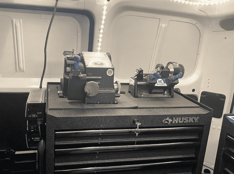 We have key cutters in our locksmith van so we can make copies right on site.